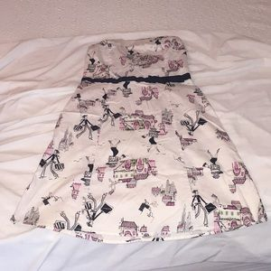 Taunt size 7 strapless dress